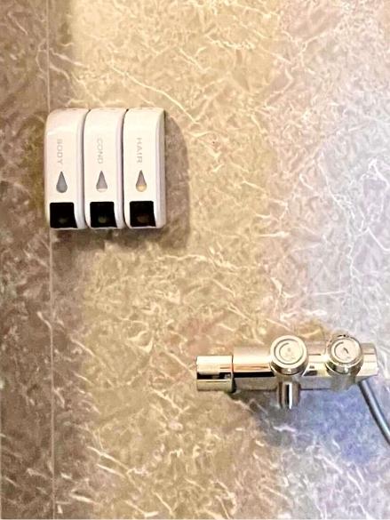 風待月206号室、シャワー室の写真2