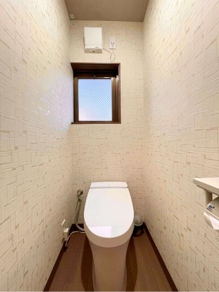 草津月302号室、洗面、お手洗い室の写真2