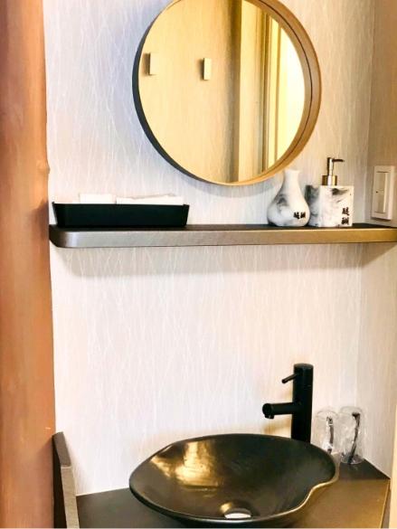 寝長月303号室、洗面、御手洗いの写真1