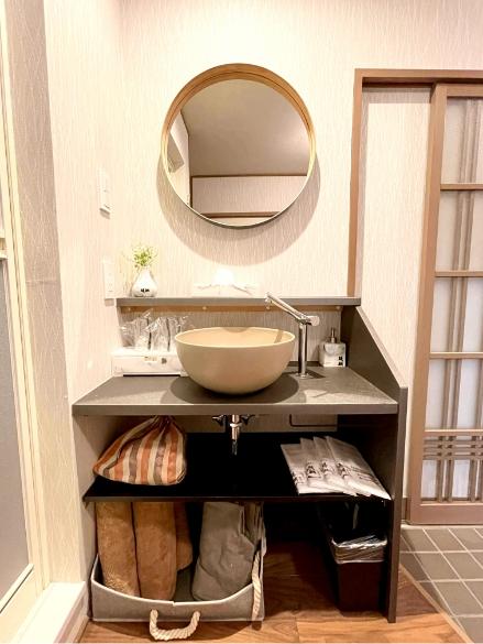 神楽月304号室、洗面、御手洗いの写真1