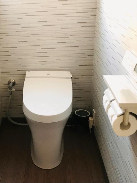 初花月202号室の洗面、お手洗いの写真2